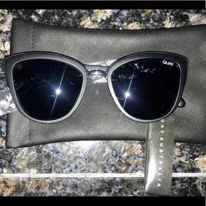 Quay My Girl Cat eye sunglasses  BNWT